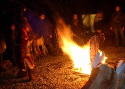 Feuerritual am Ammersee