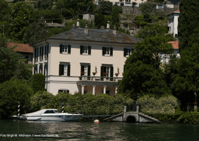 George Clooney Villa am Comer See