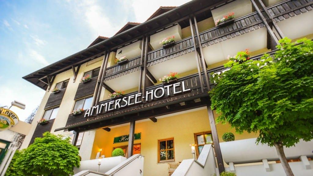 Ammersee Hotel Herrsching Aussenansicht