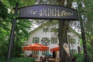 Alte Post zu Pähl mit Wirtsgarten im Fünfseenland