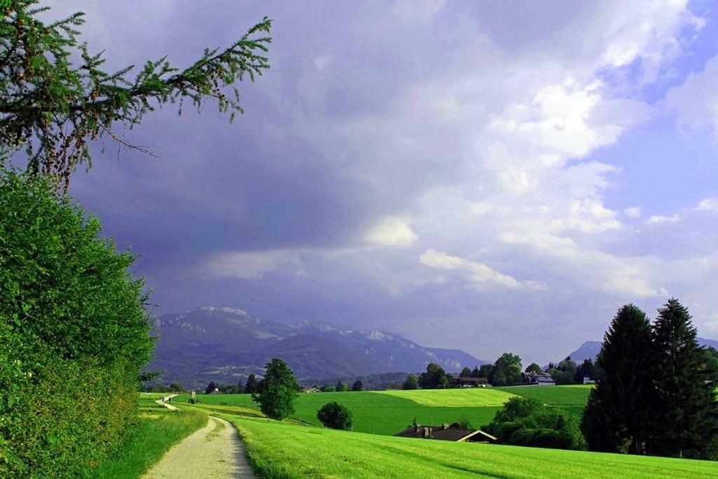meditativ Berge Wetter und Landschaft wahrnehmen bei den meditativen Wanderungen