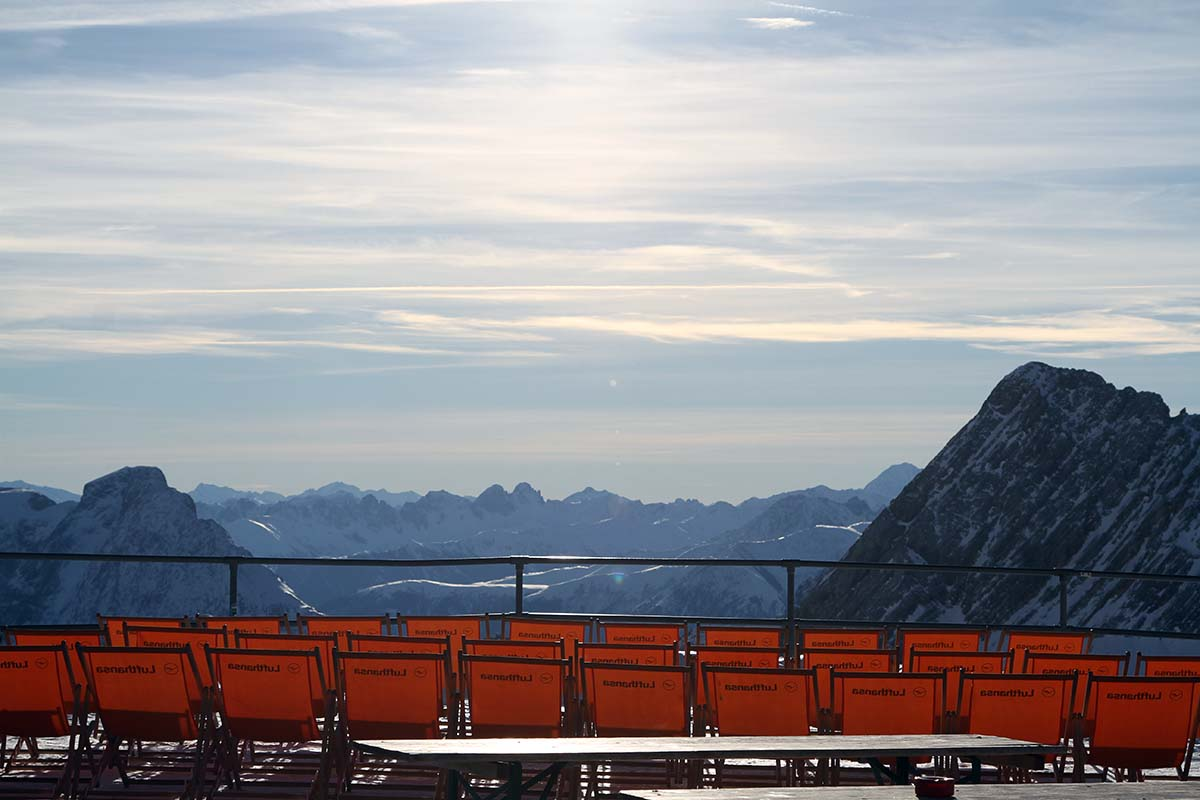 Wandertipps an den Bayerischen Seen und in den Alpen hier Zugspitze
