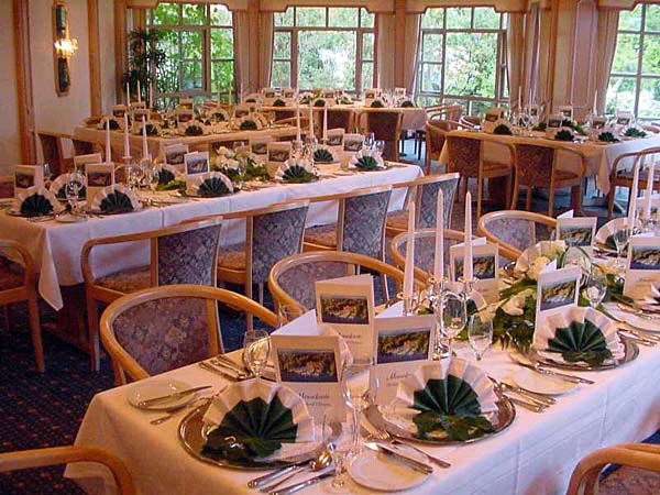 Restaurant im Yachthotel Chiemsee
