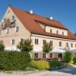 Aussenansicht Gasthof zur Post, Herrsching am Ammersee