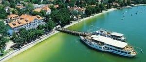 Luftaufnahme Hotel Seehof Ammersee in Herrsching