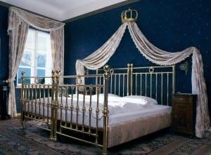 Die Sisi Suite im Golfhotel Kaiserin Elisabeth in Feldafing am Starnberger See