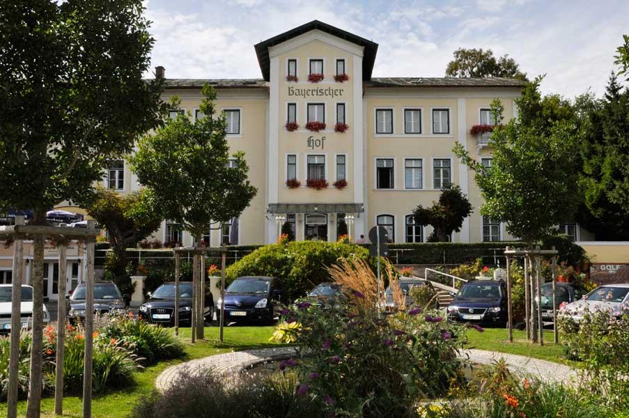 Aussenansicht Hotel Bayerischer Hof Starnberg Fünfseenland Bayern