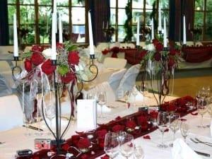 Bankettsaal im Yachthotel Chiemsee