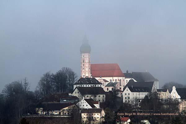 Restaurants und Essenstipps in der Region Fünfseenland - Bild: Kloster Andechs am Ammersee