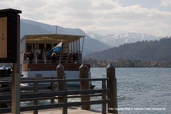 Bayerische Seenschifffahrt am Tegernsee