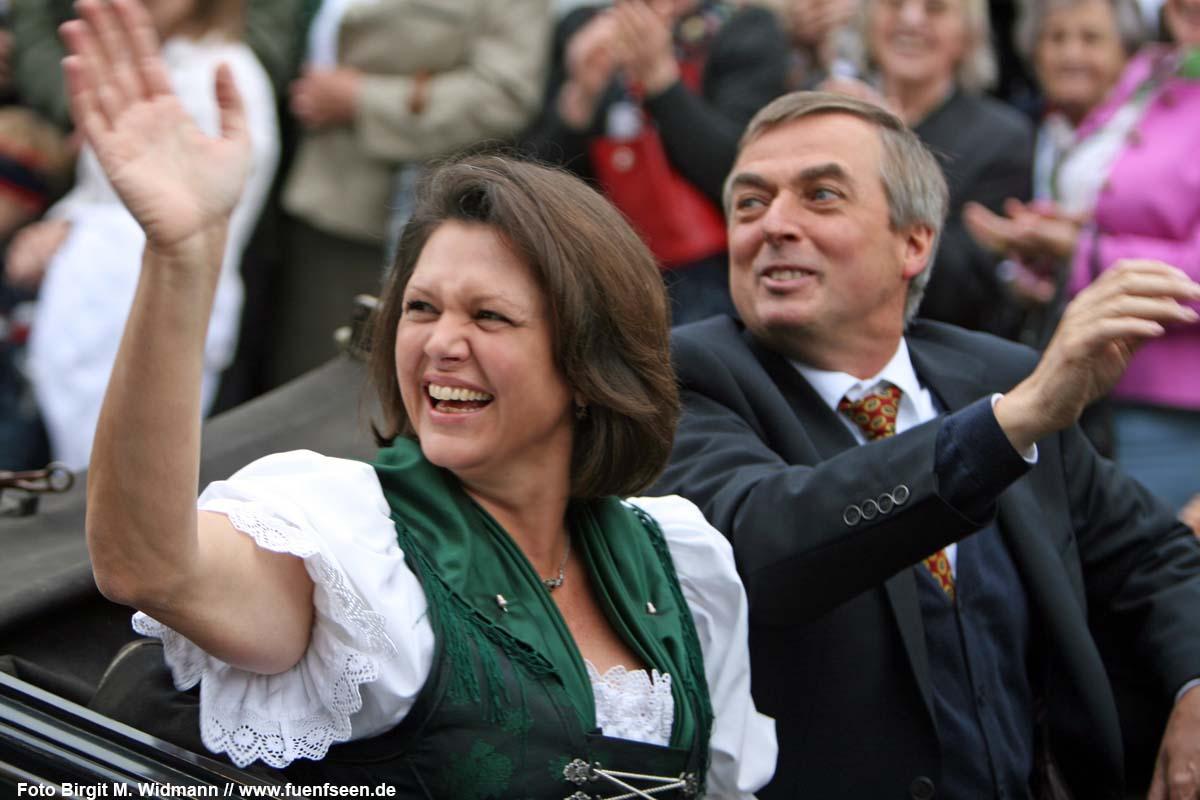 Schirmherrin Ilse Aigner zum 40jährigen Bestehen der Tutzinger Gilde