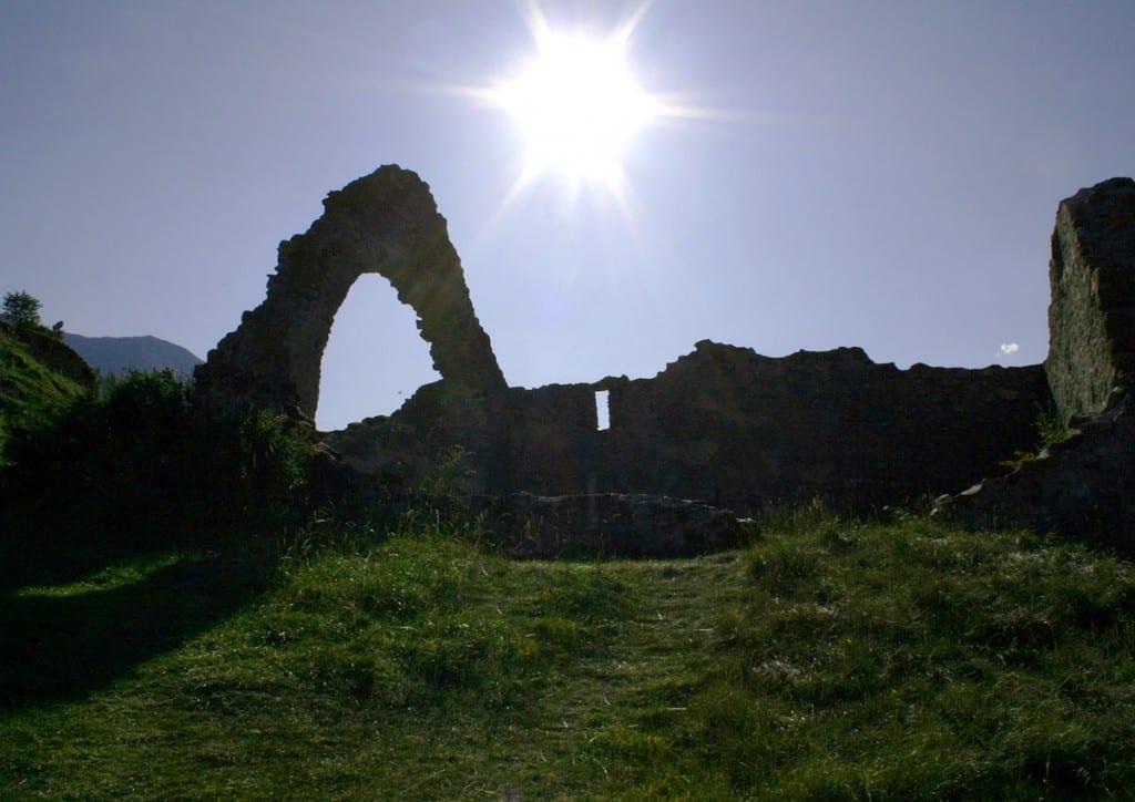 Burgruine Steinsberg Ardez