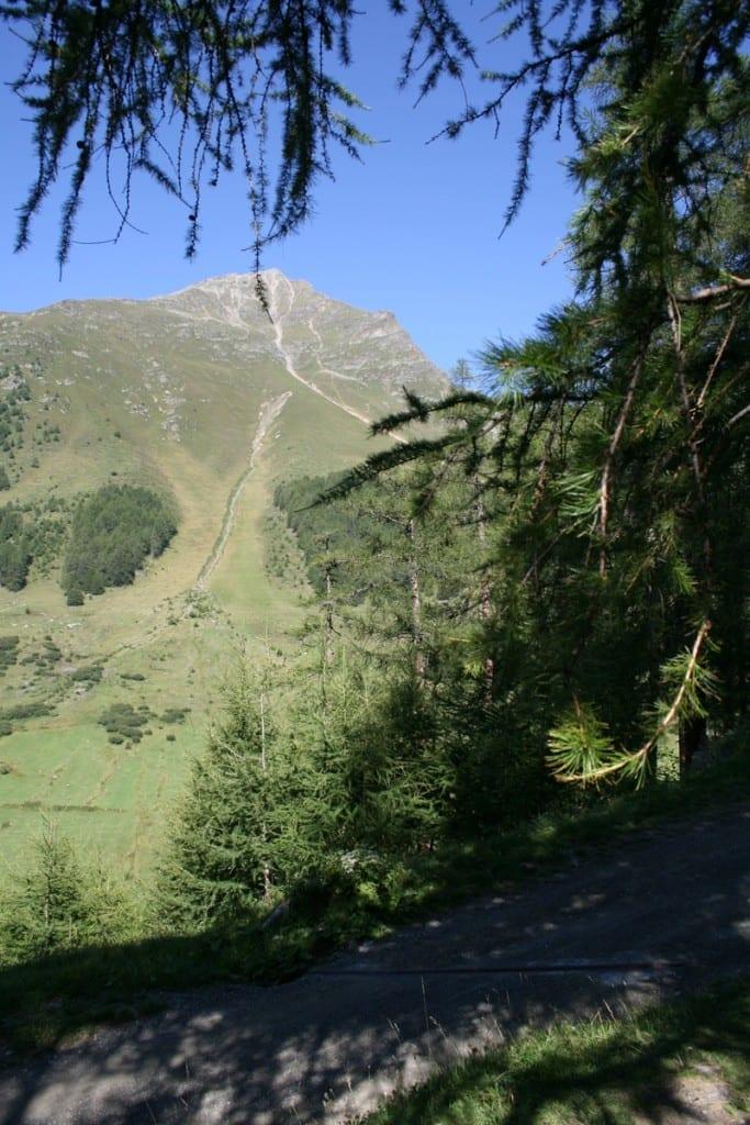 Der Weitwanderweg im Engadin Shweiz