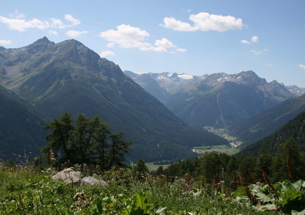 via engadina in der Schweiz
