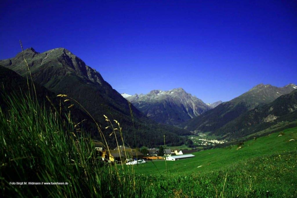 Guarda im Engadin Schweiz