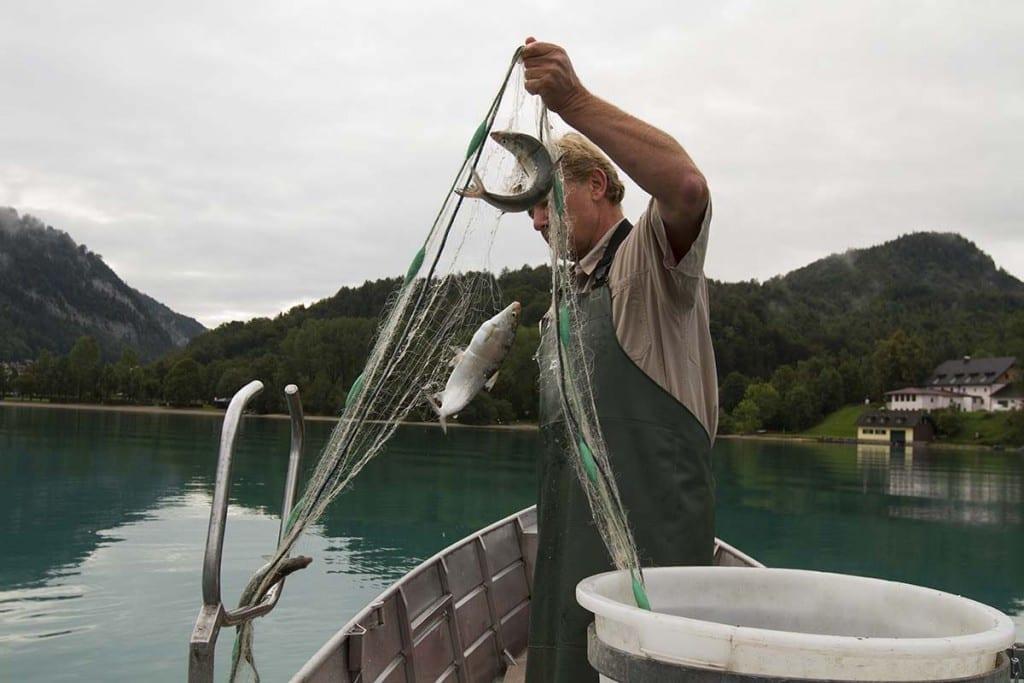 Der Fischer vom Fuschlsee