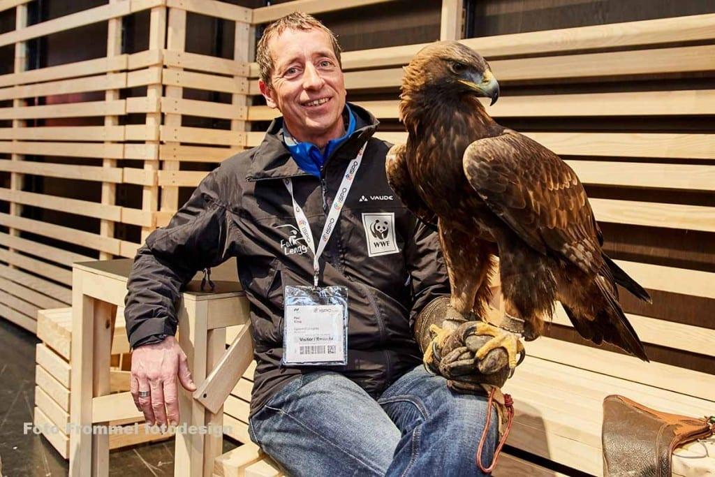 Adler auf der Ispo