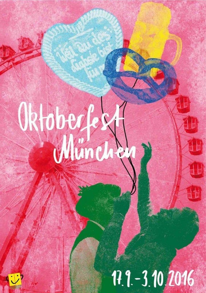 erster Preis Wiesnplakat 2016 zum Oktoberfest