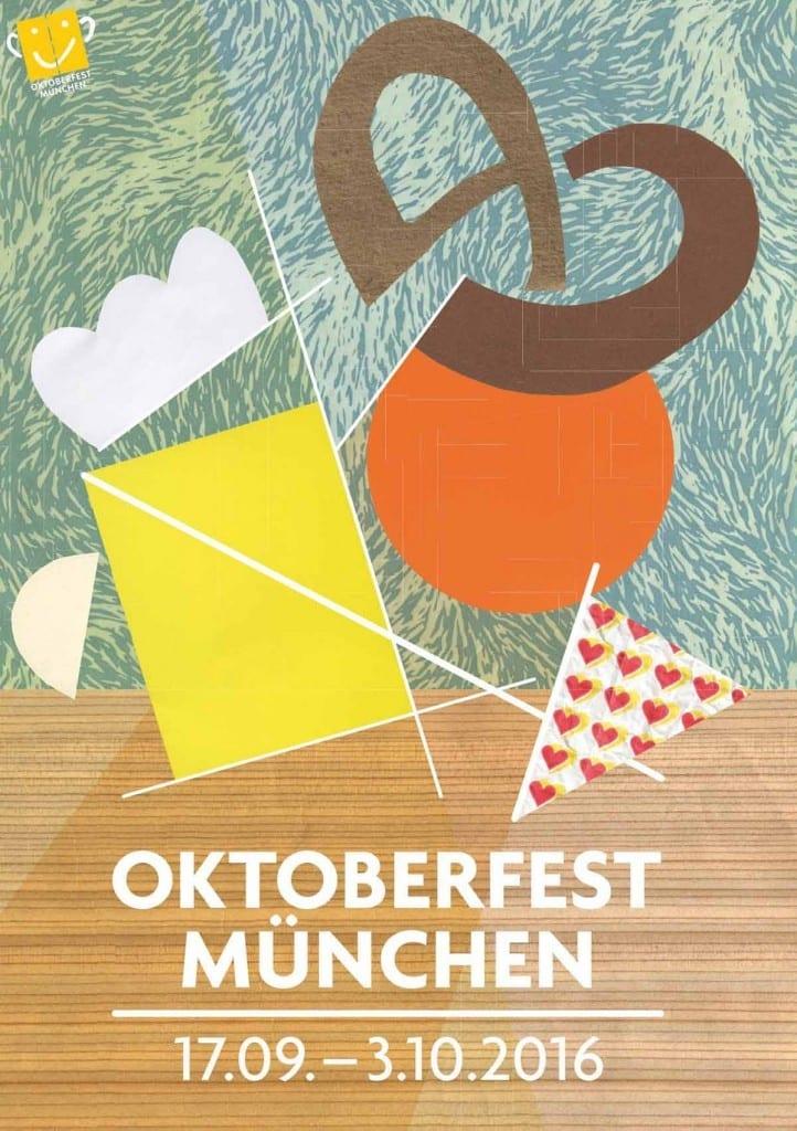 zweiter Preis Oktoberfestplakat 2016