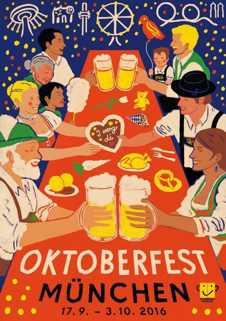Dritter Preis Oktoberfestplakat 2016