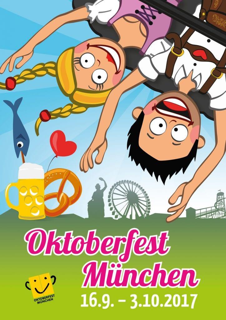 zweiter Preis Oktoberfestplakat 2017