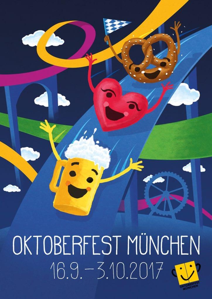 dritter Preis Oktoberfestplakat 2017