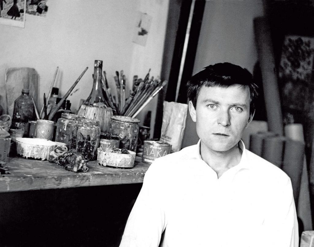 Janosch im Jahre 1955